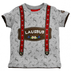 """T-Shirt halbarm """"Lausbub""""..."""