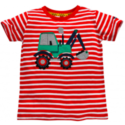 T-Shirt halbarm geringelt...