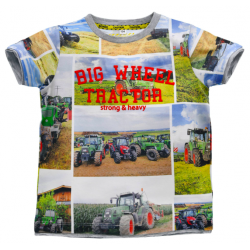 "T-Shirt halbarm ""Big Wheel""..."