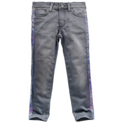 JEANS GRAU DENIM
