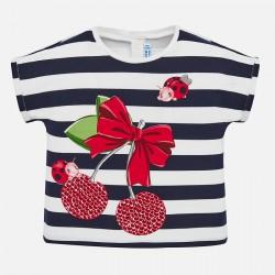 T-shirt kurzarm Kirsche
