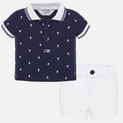 Set Shorts und Polohemd