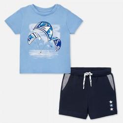 Set Bermudas und T-Shirt