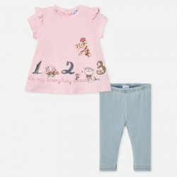 Set Leggings und T-Shirt