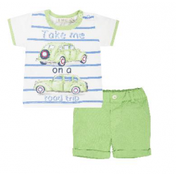 2-er set Short mit T-Shirt