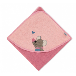 Badetuch 80x80 Mabel rosa