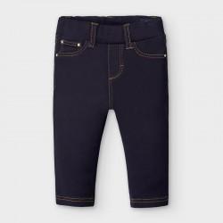 Jeans-Hose Basic Dunkel